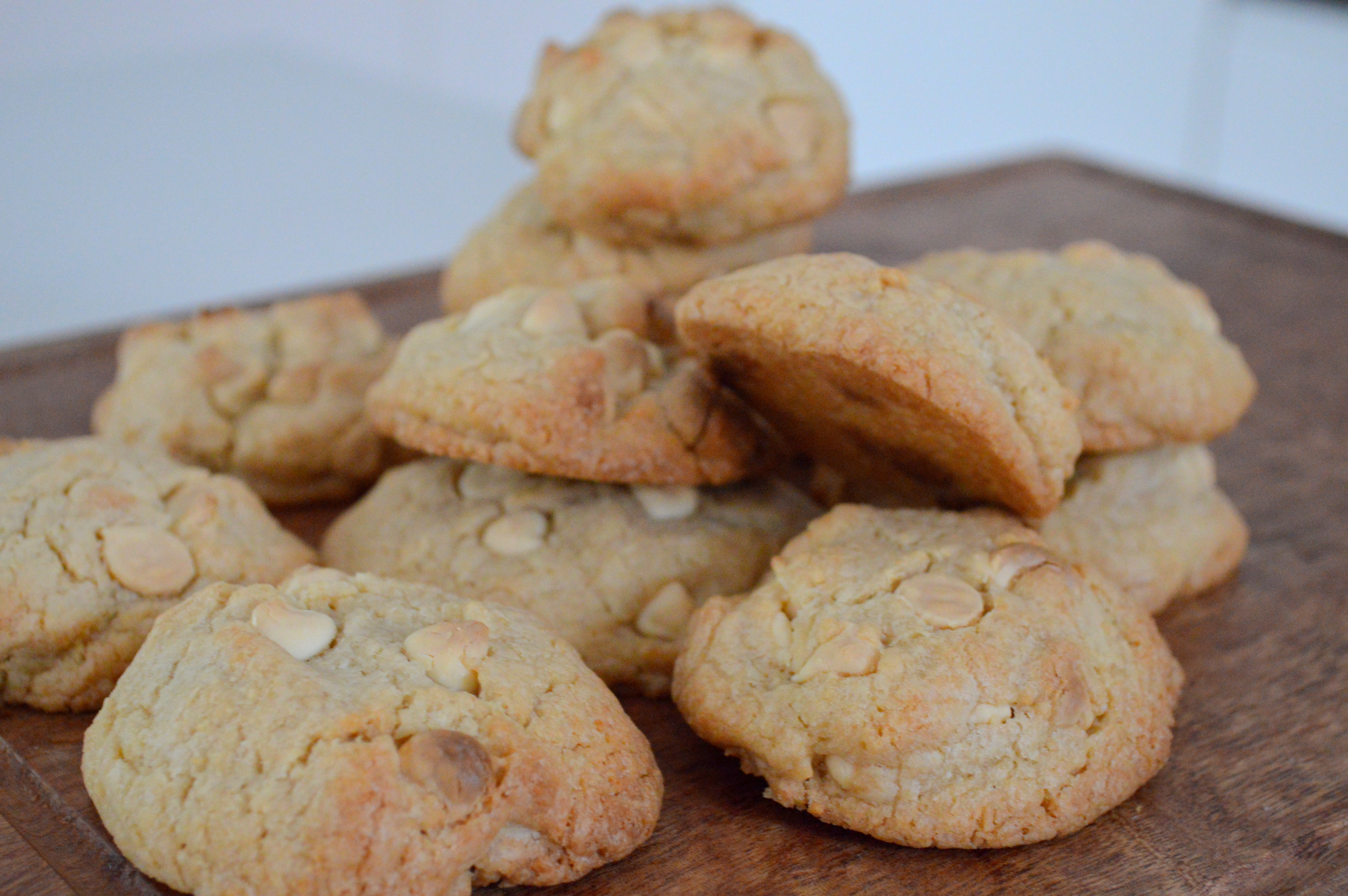 Sunday Sweets – Chewy White-Chocolate Chip and Coconut Cookies ...
